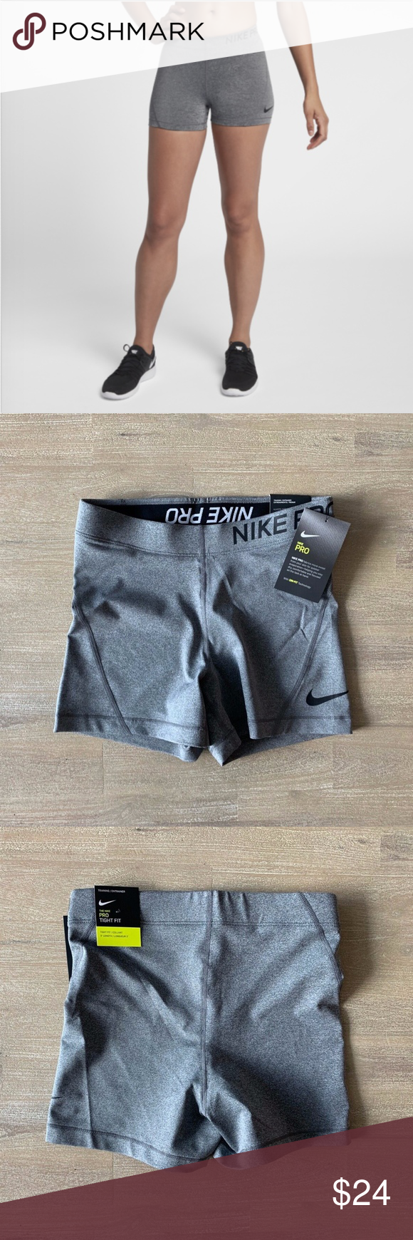 "Casarse sangrado Interrupción  NIKE PRO DRI FIT 3"" TRAINING SPANDEX SHORTS | NWT | Spandex shorts, Nike  pros, Dri fit"