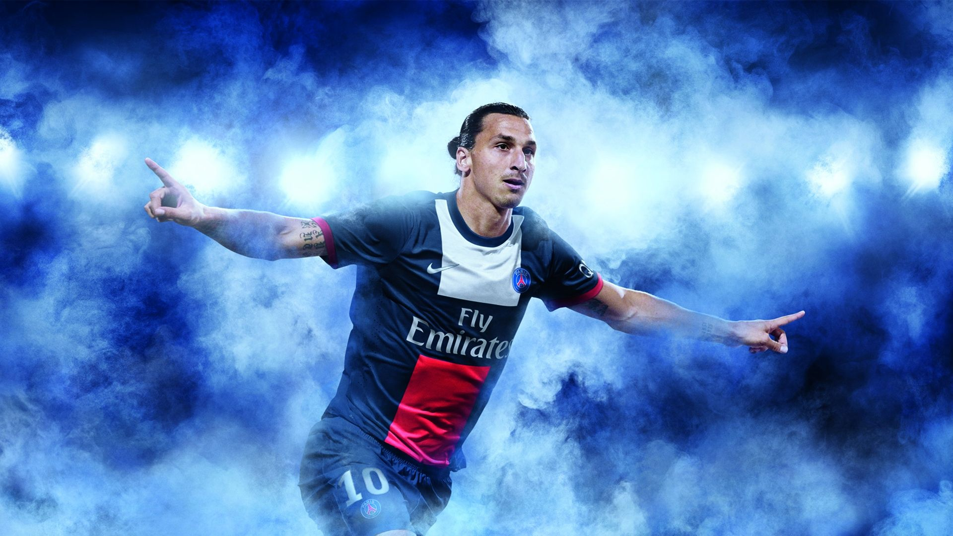 Zalatan Ibrahimovic PSG Wallpaper