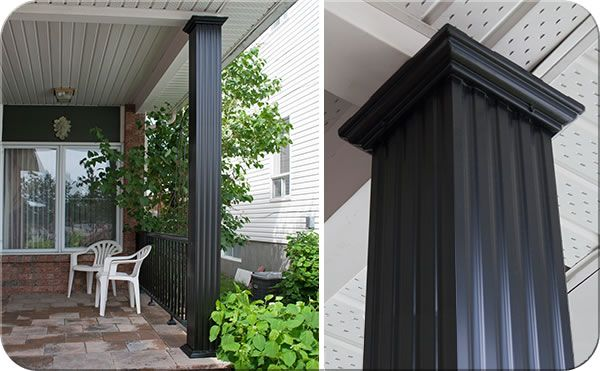 Square Fluted Porch Post Or Wrap Fence All