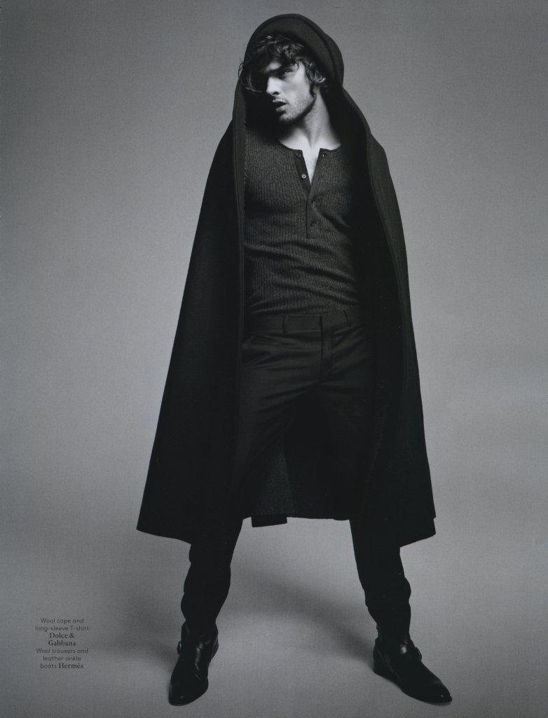American Idle: Marlon Teixeira For Vogue Hommes International!