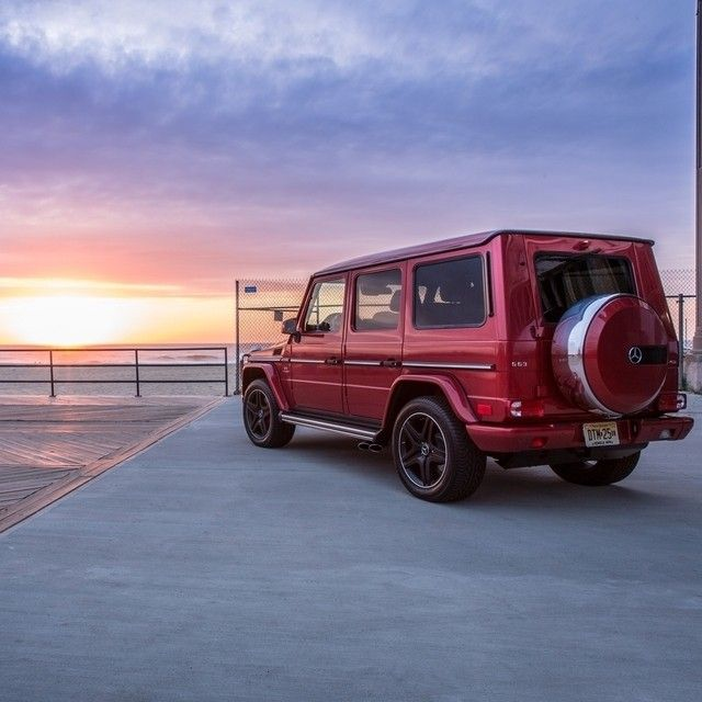 Mercedes Benz G63 Used: The Sun Sets On An Architectural Tour Of Greater New York