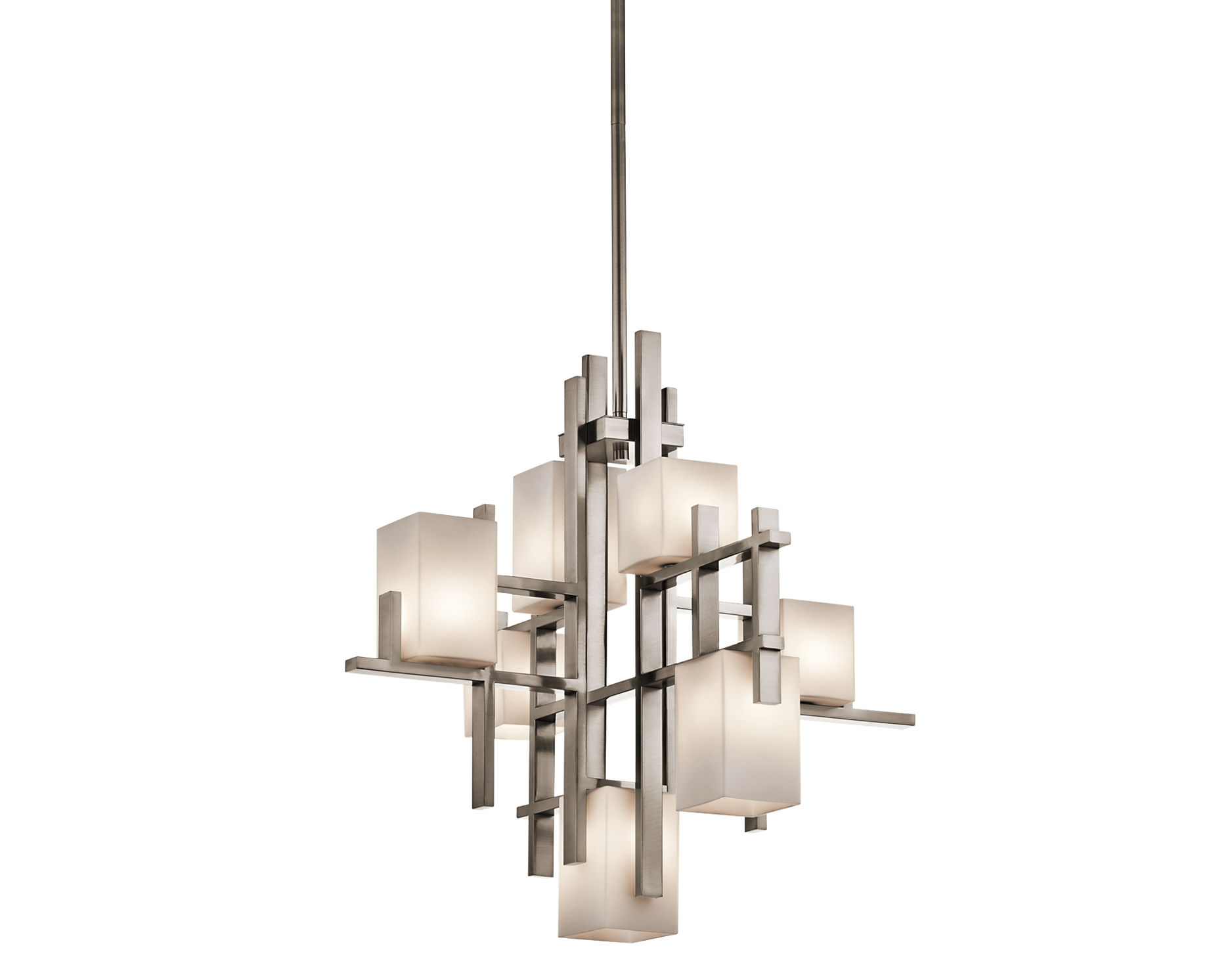 City Lights Collection 7 lights Chandelier in Classic Pewter - 23 1 ... for Modern Chandelier Png  587fsj