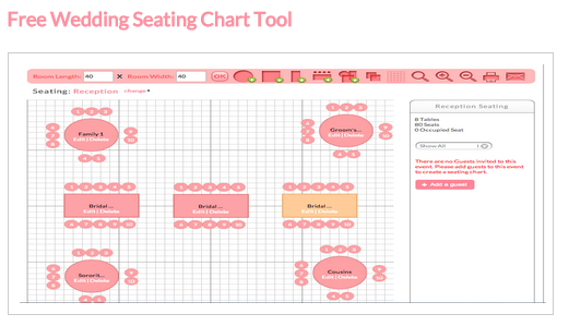 perfect wedding guide seating chart tool wedding becoming a