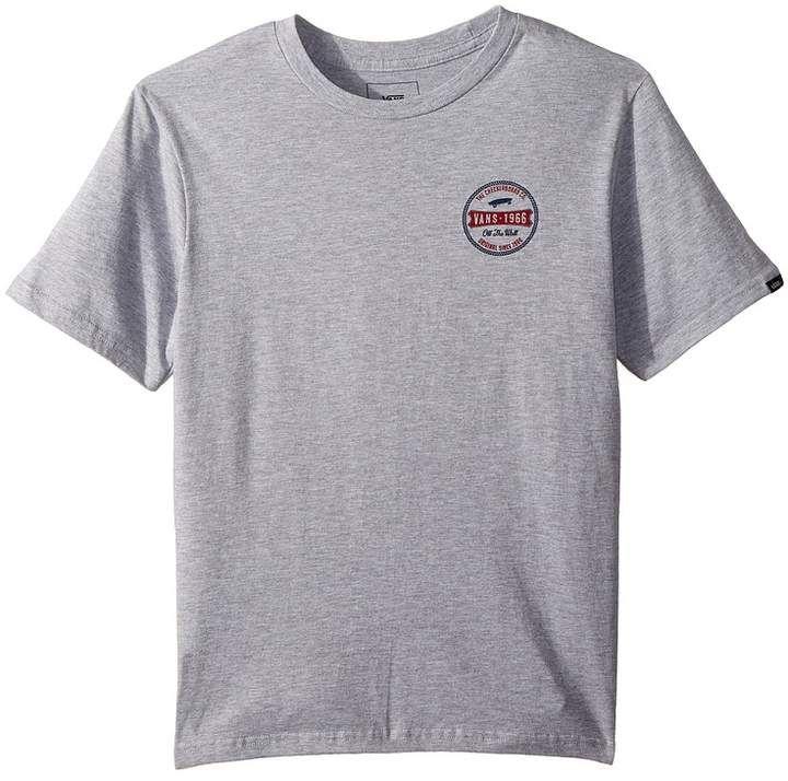 be9cc86a7fe Vans Kids Checkerboard Co T-Shirt Boy s T Shirt