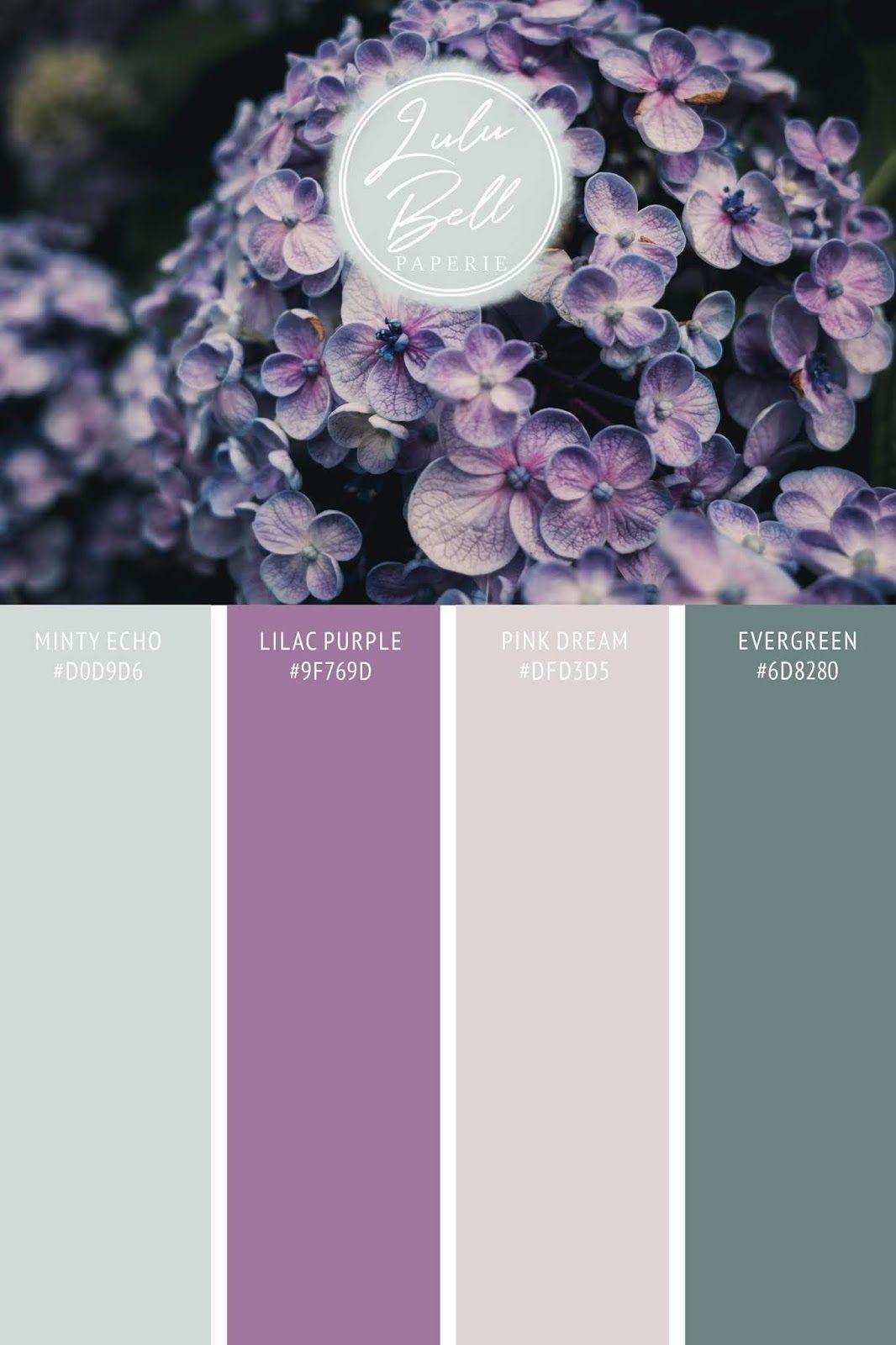 Designer Spotlight : Array for Weddings - Lilac Bouquet Wedding Collection