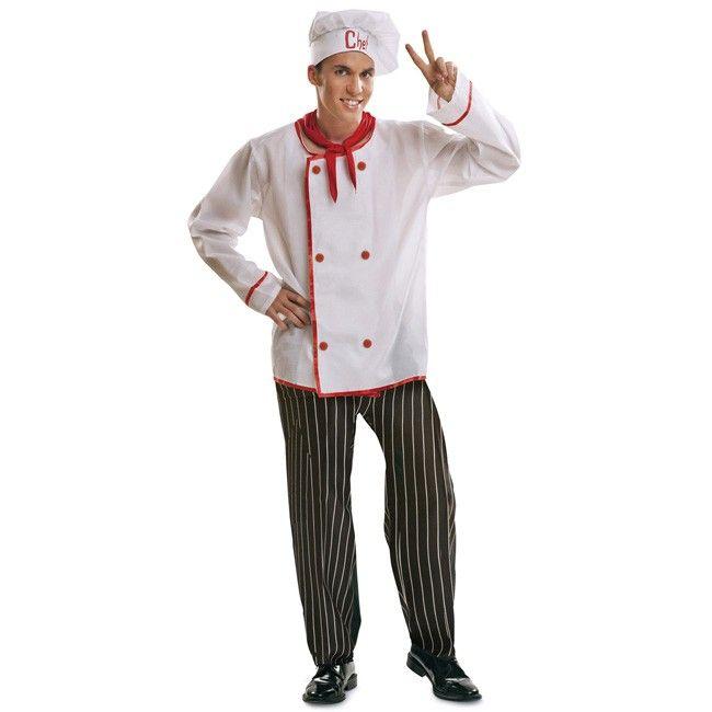 disfraz de cocinero masterchef para hombre disfraces