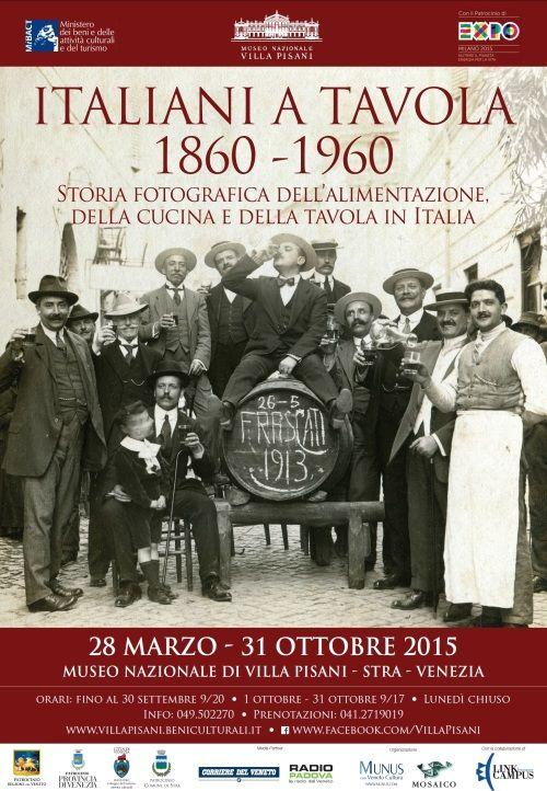 """Il Museo Nazionale di Villa Pisani ha ospitato la premiazione dei tre vincitori del concorso fotografico """"Italiani a tavola. Riflessi contemporanei"""""""