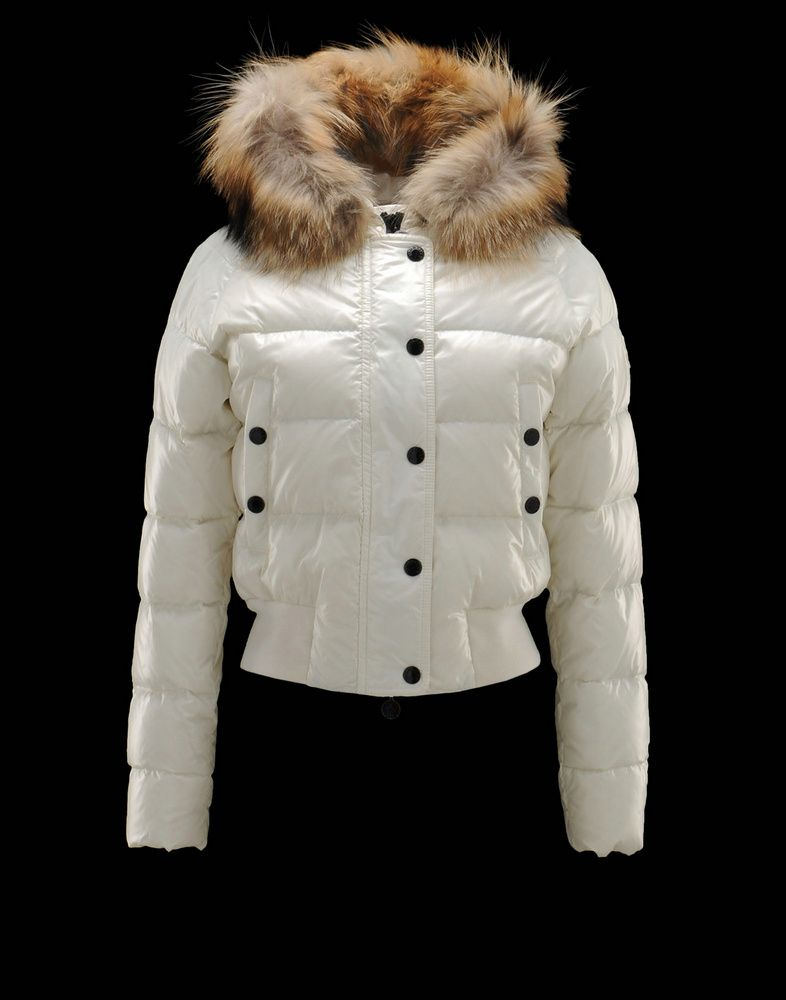 81b3b9af9ef MONCLER ALPIN Women Down Jacket White | Fashion | Moncler jacket ...