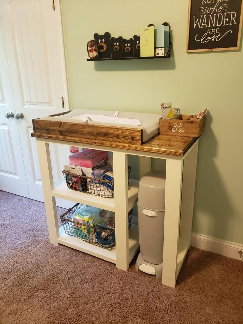 , #nursery Farmhouse baby changing table / Farmhouse nursery table / Farmhouse diaper table, My Babies Blog 2020, My Babies Blog 2020