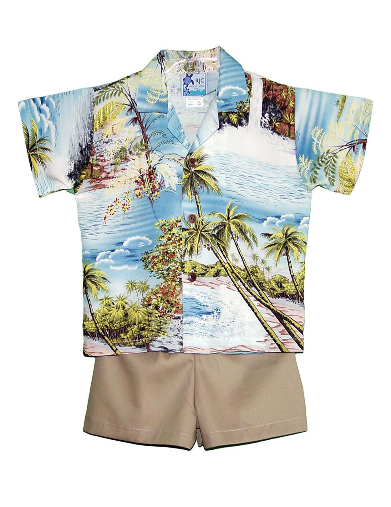 13be4122 Check out the deal on Hana Hou Boy's 2 Piece Hawaiian Rayon Cabana Set at Shaka  Time Hawaii Clothing Store