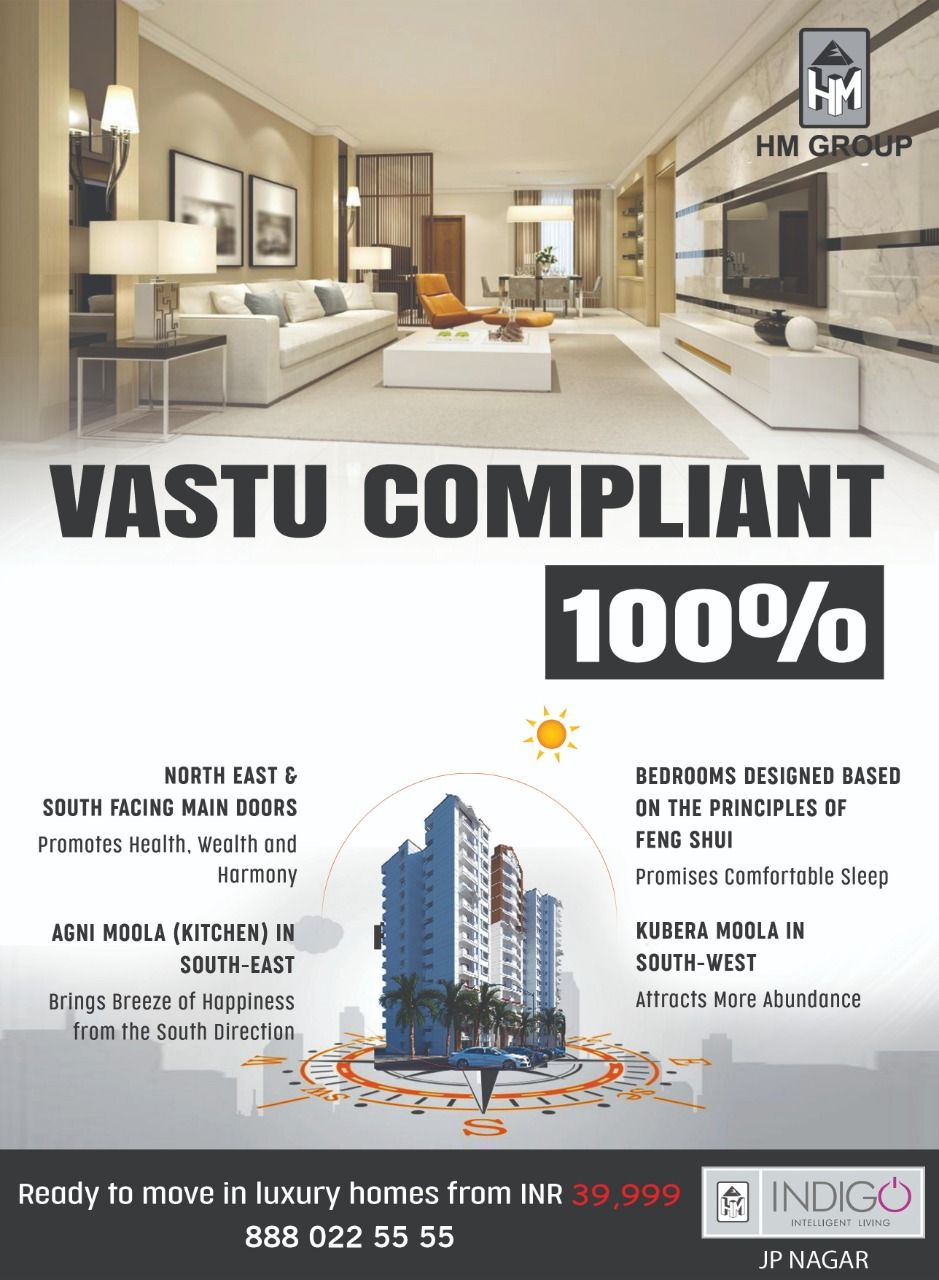 Hm Indigo Vastu Compliant Homes Property Design Top Real Estate Companies Apartments For Sale