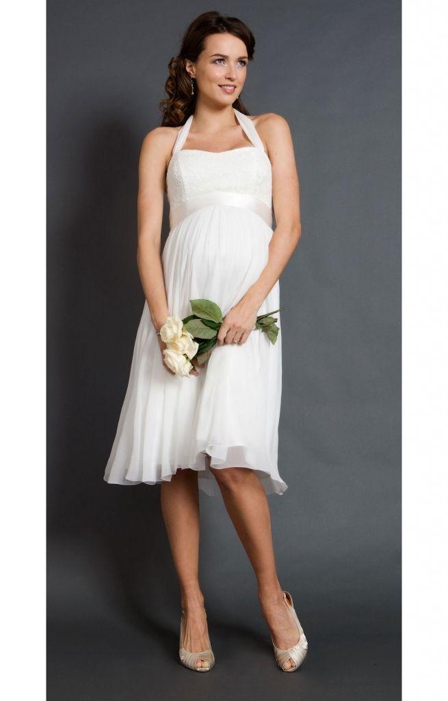 maternity short wedding dresses - dresses for wedding reception ...