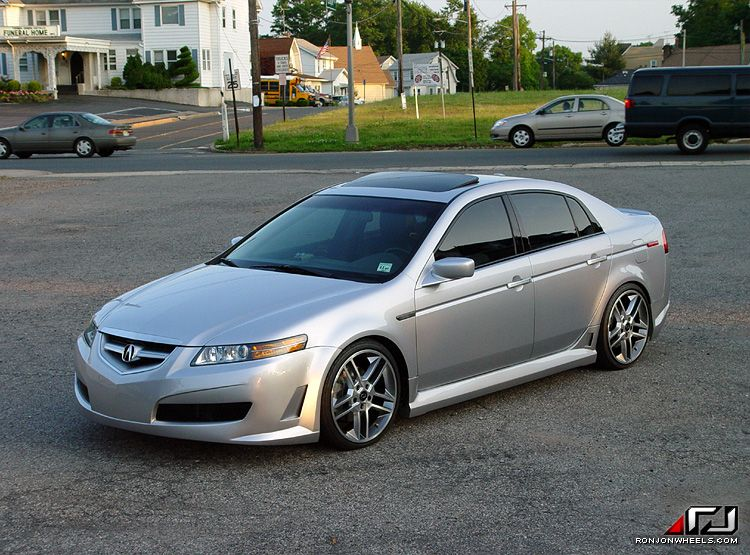 Ron Jon Body Kit Wide Kits Acura Tl Type S Car Mods