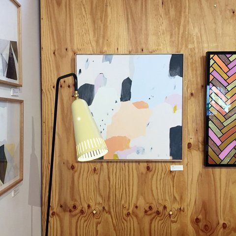 "Modern Times on Instagram: ""This new painting by @sarah_kelk is so lovely I might have to take it home myself."""