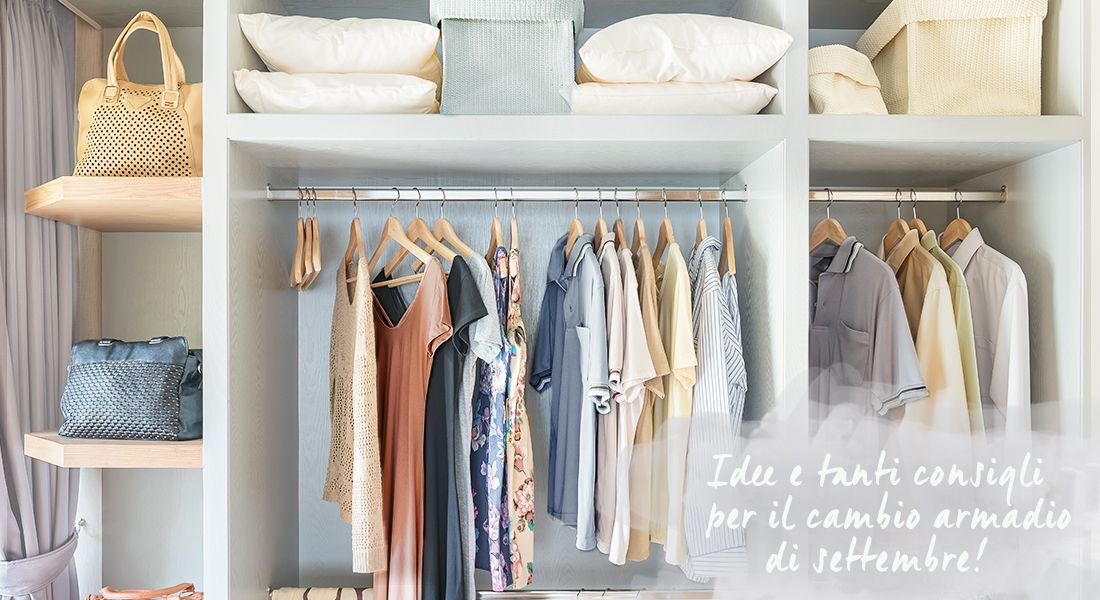 Dalani cambio armadio autunno idee casa spazio fai da te home