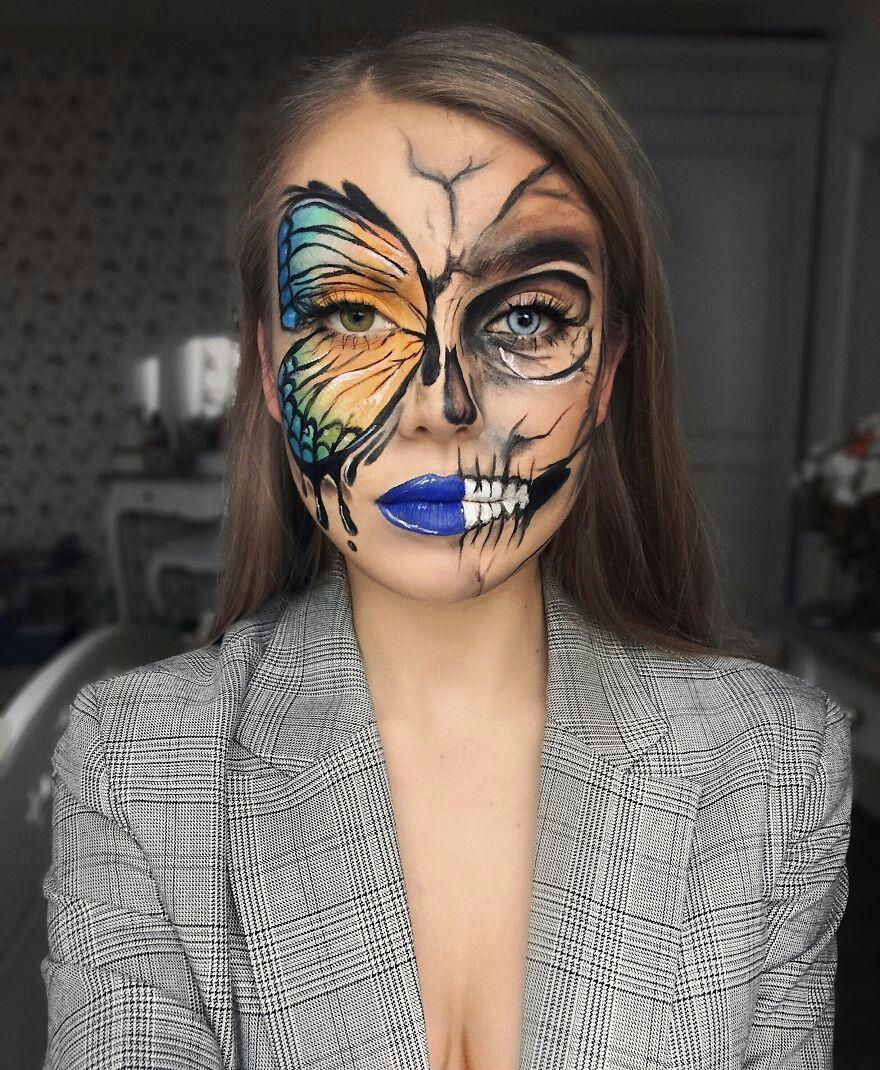 Pin by Melbug on FX makeup Cool halloween makeup
