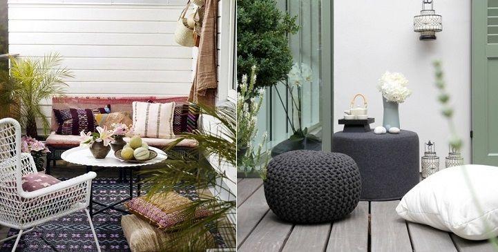 C mo decorar una terraza terrasses pinterest for Metro cuadrado decoracion