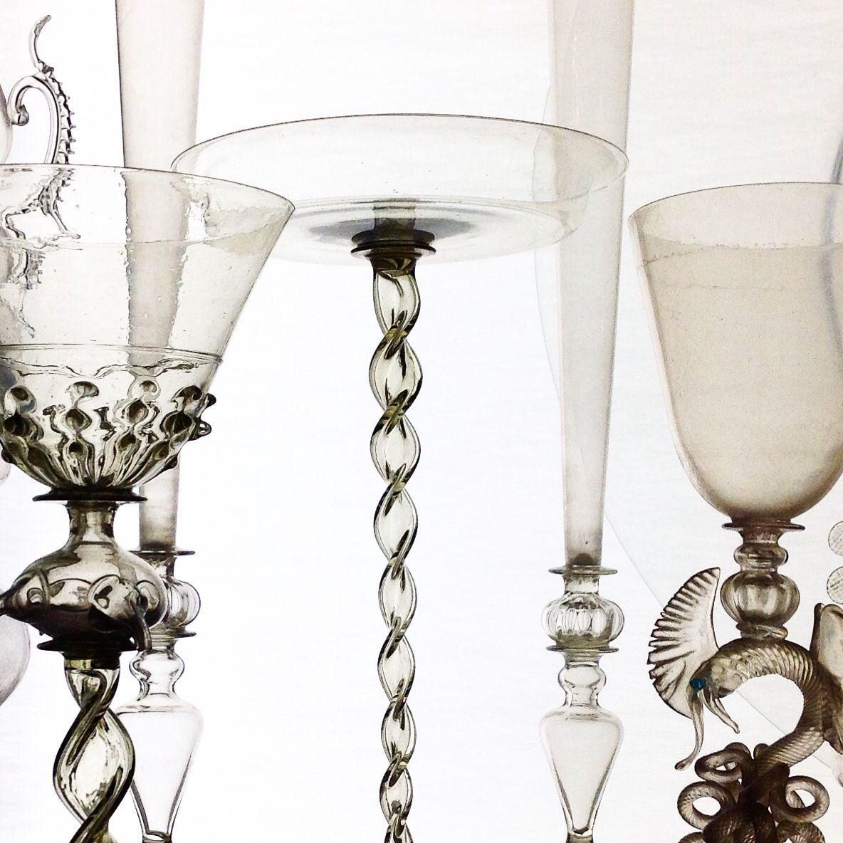 Murano glasses from Museo Pezzoli Milano Italia