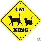 Cat crossing sign...