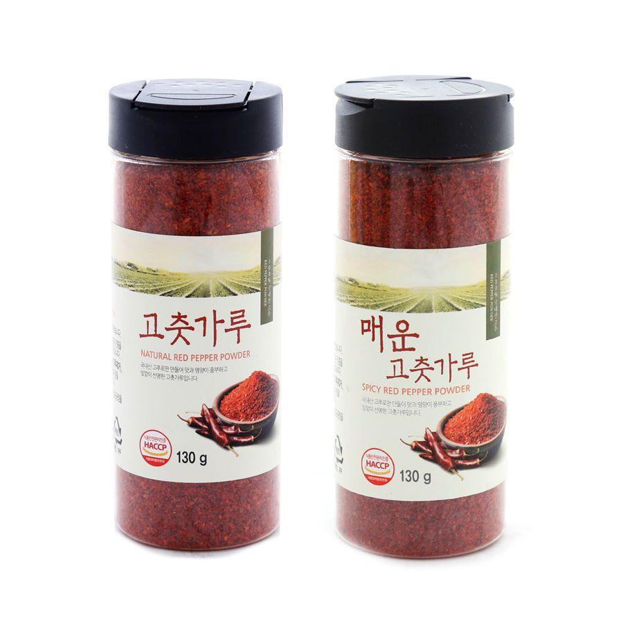 Korean JINMI Red Pepper Powder 130g for Kimchi, TTeokbokki ...