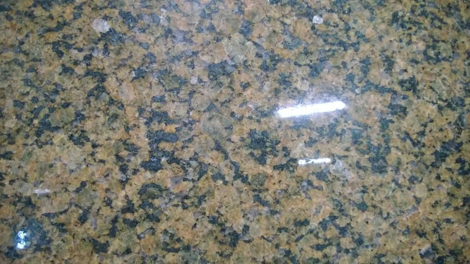 Close Up Tropical Brown Granite