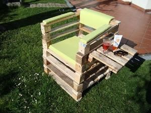 PALLETS CHAIR by nadia