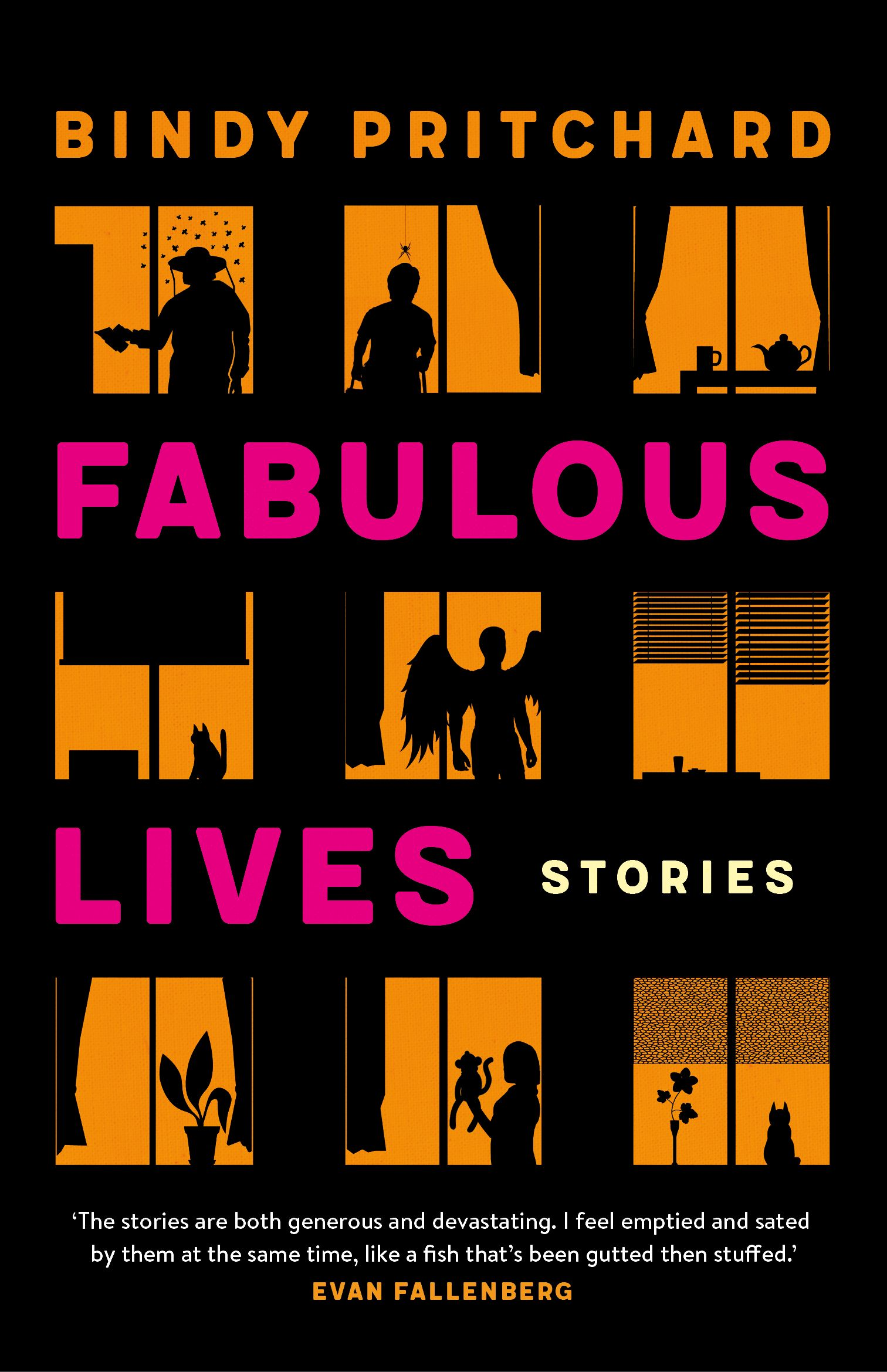Fabulous Lives by Bindy Pritchard. Cover design by Debra