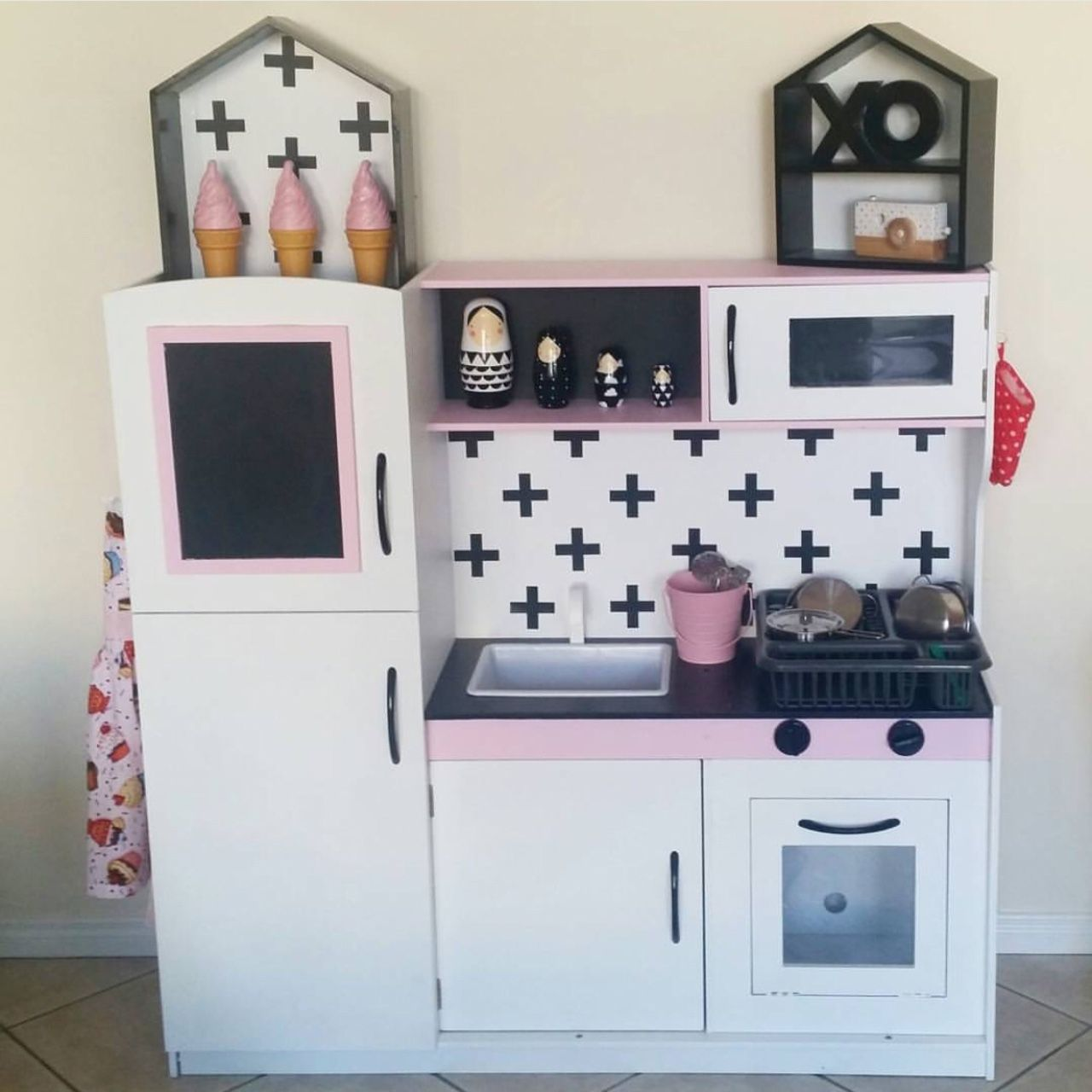 kmart hack our urban box kmart hacks kids kitchen play kitchen on kitchen ideas kmart id=42077