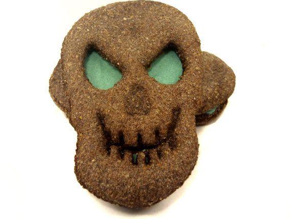 Dog Treats - Scary Skulls - Organic Dog Treats All Natural