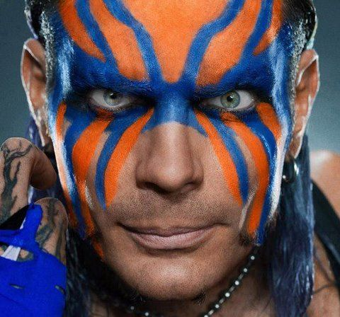 Jeff Hardy   Wwe jeff hardy, Jeff hardy, Jeff hardy face paint