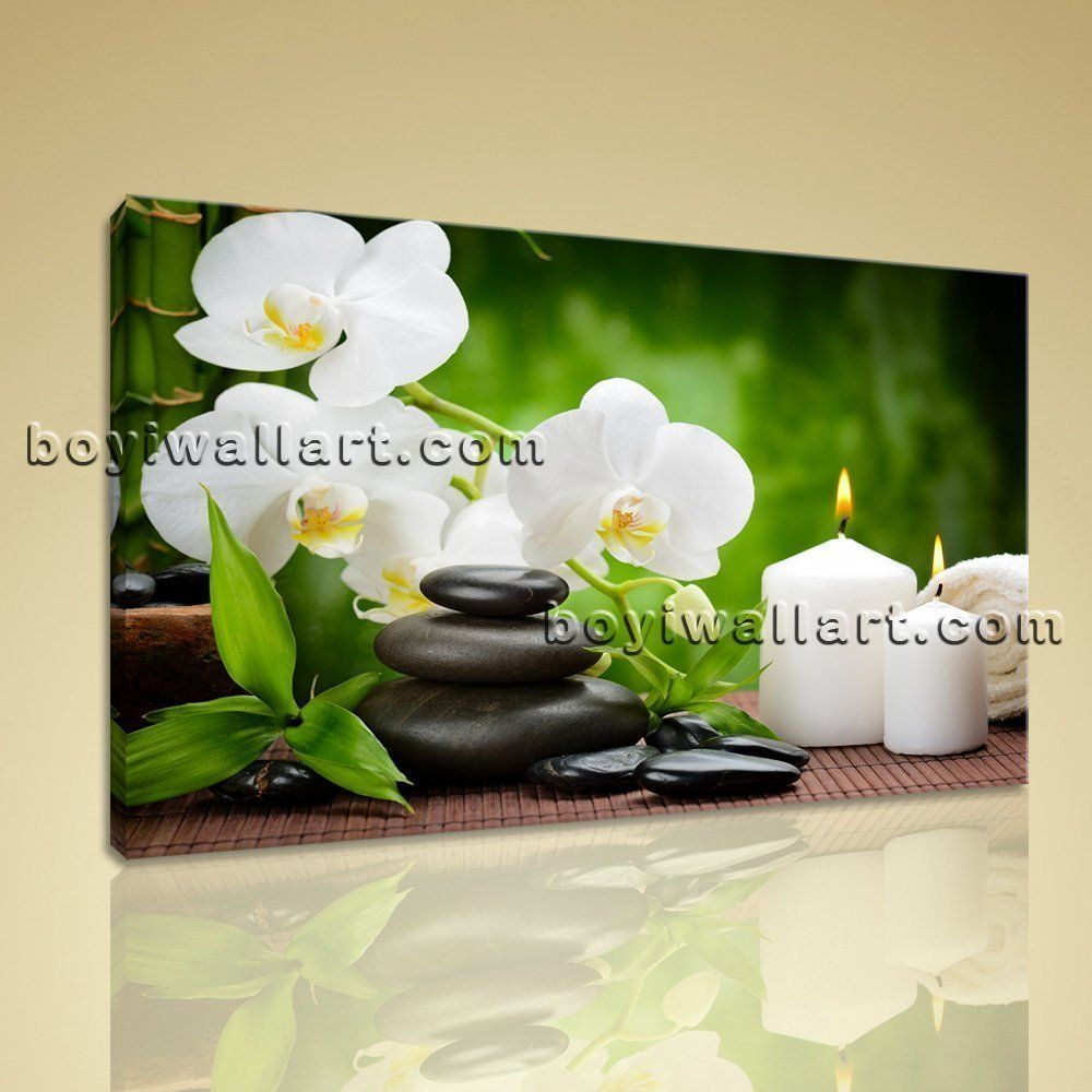 """Large Size Prints Feng Shui Wall Art Contemporary Canvas Modern Giclee Print Extra Large Wall Art, Gallery Wrapped, by Bo Yi Gallery 36""""x24"""". Large Size Prints Feng Shui Wall Art Contemporary Canvas Modern Giclee Print Subject : Zen Art Style : Contemporary Panels : 1 Detail Size : 36""""x24"""" Overall Size : 36""""x24"""" = 91cm x 61cm Medium : Giclee Print On Canvas Condition : Brand New Frames : Gallery wrapped [FEATURES] Lightweight and easy to hang. High revolution giclee artwork/photograph…"""