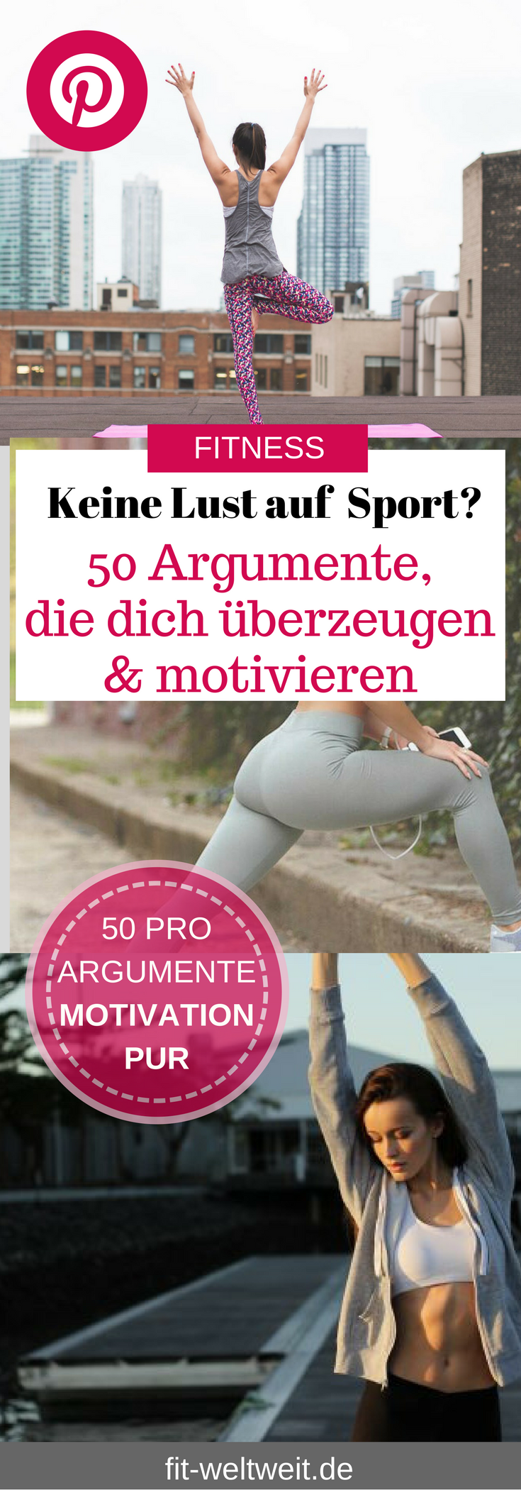 #Alltag #Argumente #Fitness #Fitnessmotivationfrauen #Gründe #pro #solltest #Sport #Trainieren #unbe...