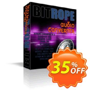 [35 OFF] BitRope Audio Converter Coupon code on April