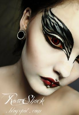 Black Swan Makeup, also awesome for derby
