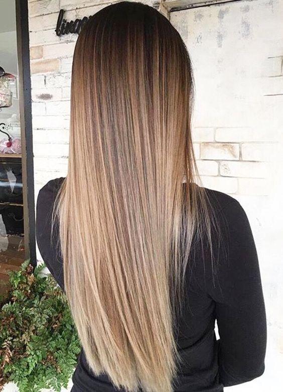 Pin di noemi aruta su hairstyles | Capelli lisci castani ...