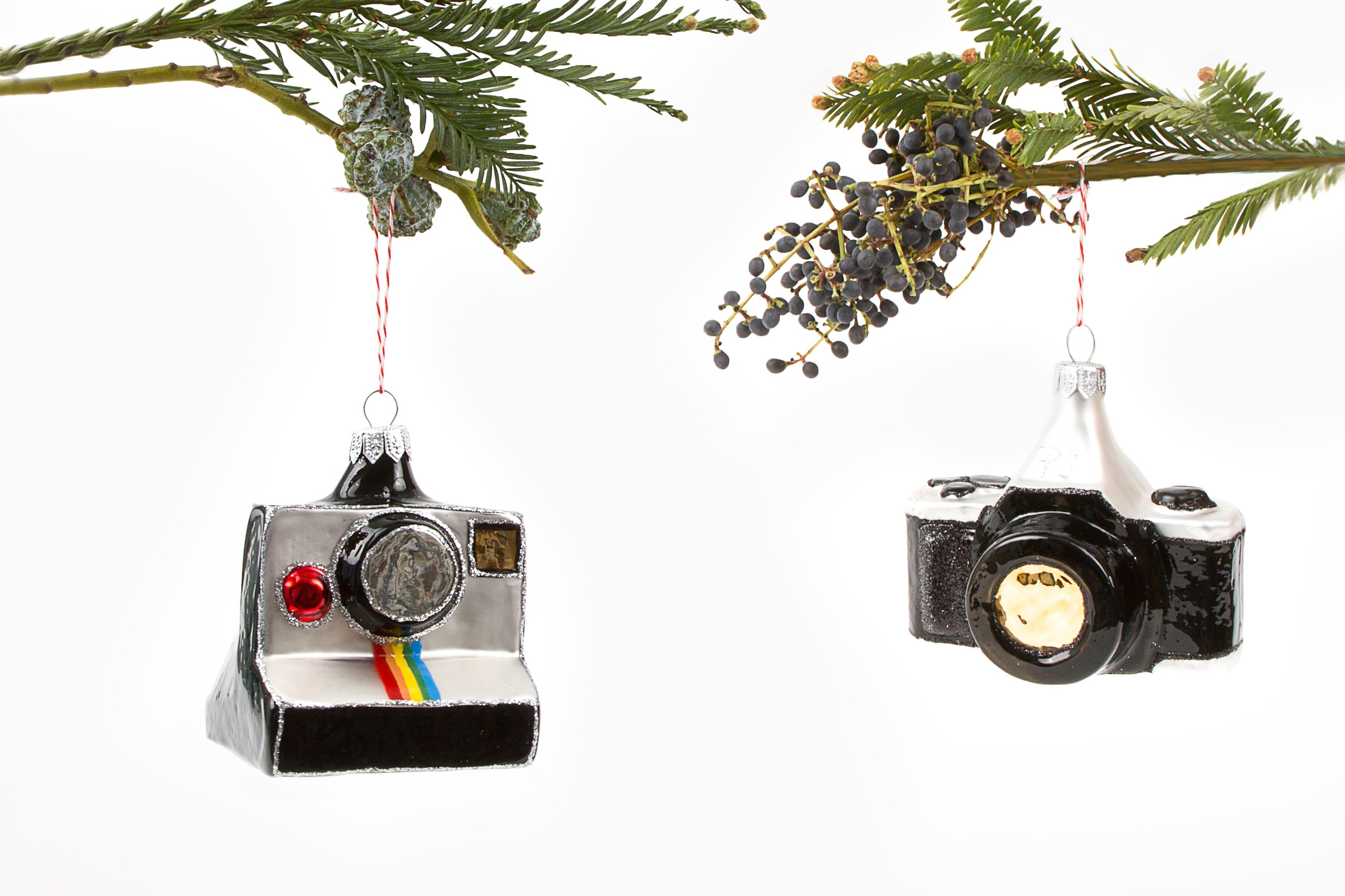 Photojojo Tree Bling - Camera shaped ornaments, perfect for photographers and holiday enthusiasts ($25.00, http://photojojo.com/store)