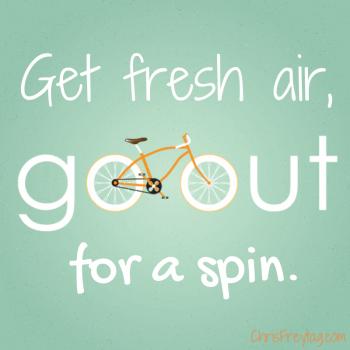 Go Out for a Spin! www.gethealthyu.com