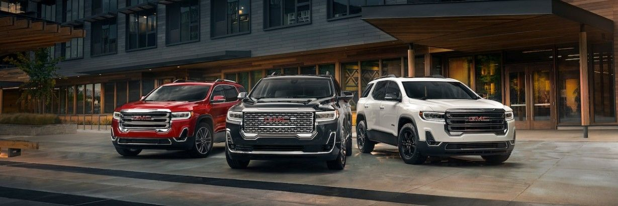 Premium Design And Purposeful Features Equip The Acadia Mid Size Suv For Your On The Go Lifestyle From The Available Power Lift Suv Mid Size Suv Acadia Denali