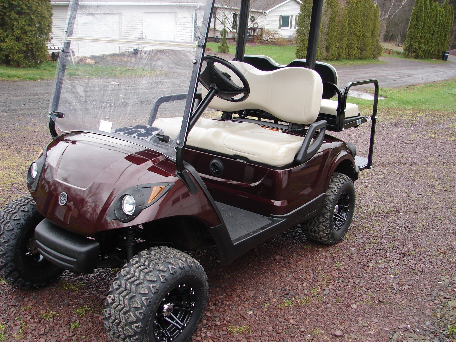 2012 Yamaha Drive G29 48V Electric Golf Cart   Golf carts