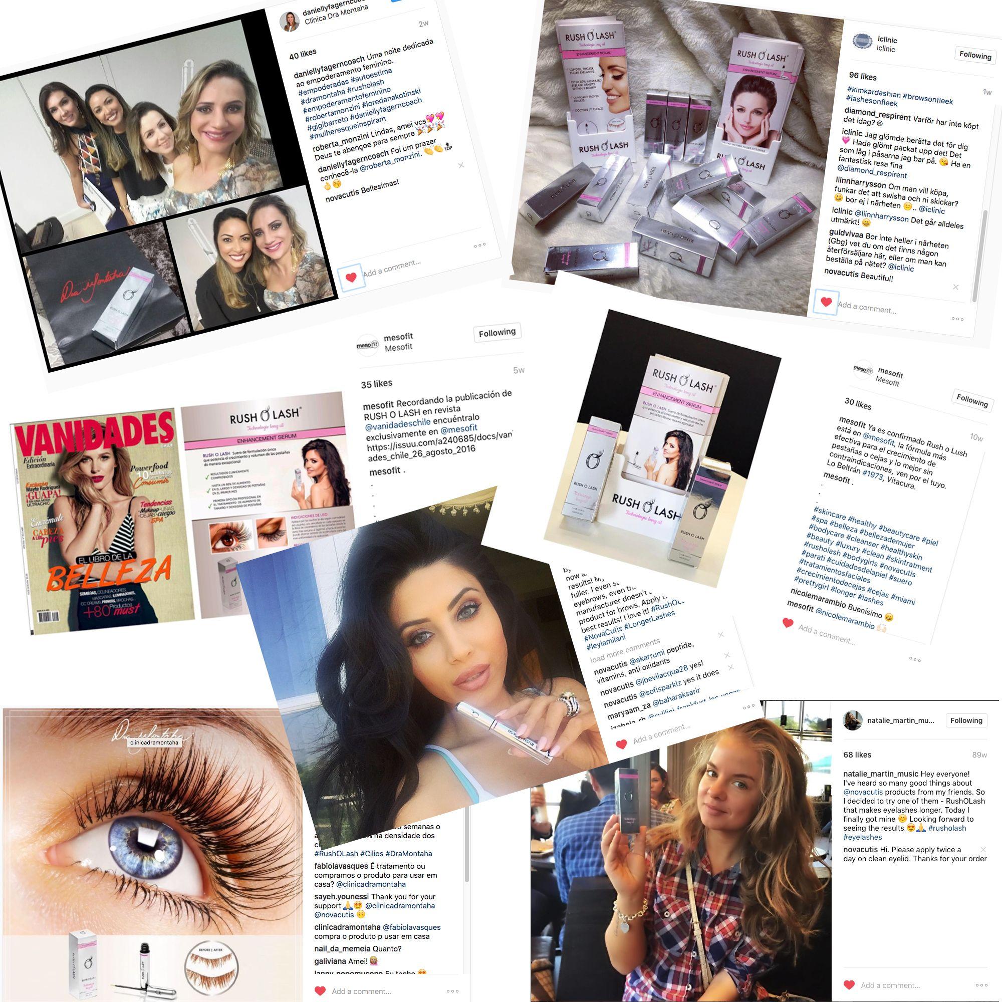 We love to see happy all Rush O Lash users worldwide! You can be part of our family. Share your pictures with us.   #novacutis #rusholash #rusholashfans #aestheticmedicine #beauty #cosmetics #eyelashes #eyelashserum #mesotherapy #makeup #antiage #aminoacids #hyaluronicacid #serumparapestañas #pestañas #pestañaslargas #cejas #cosmeticos #medicinaestetica #Schönheit #Natürlichkeit #Sanft #JugendlichesÄußeres #Hautstruktur #красота