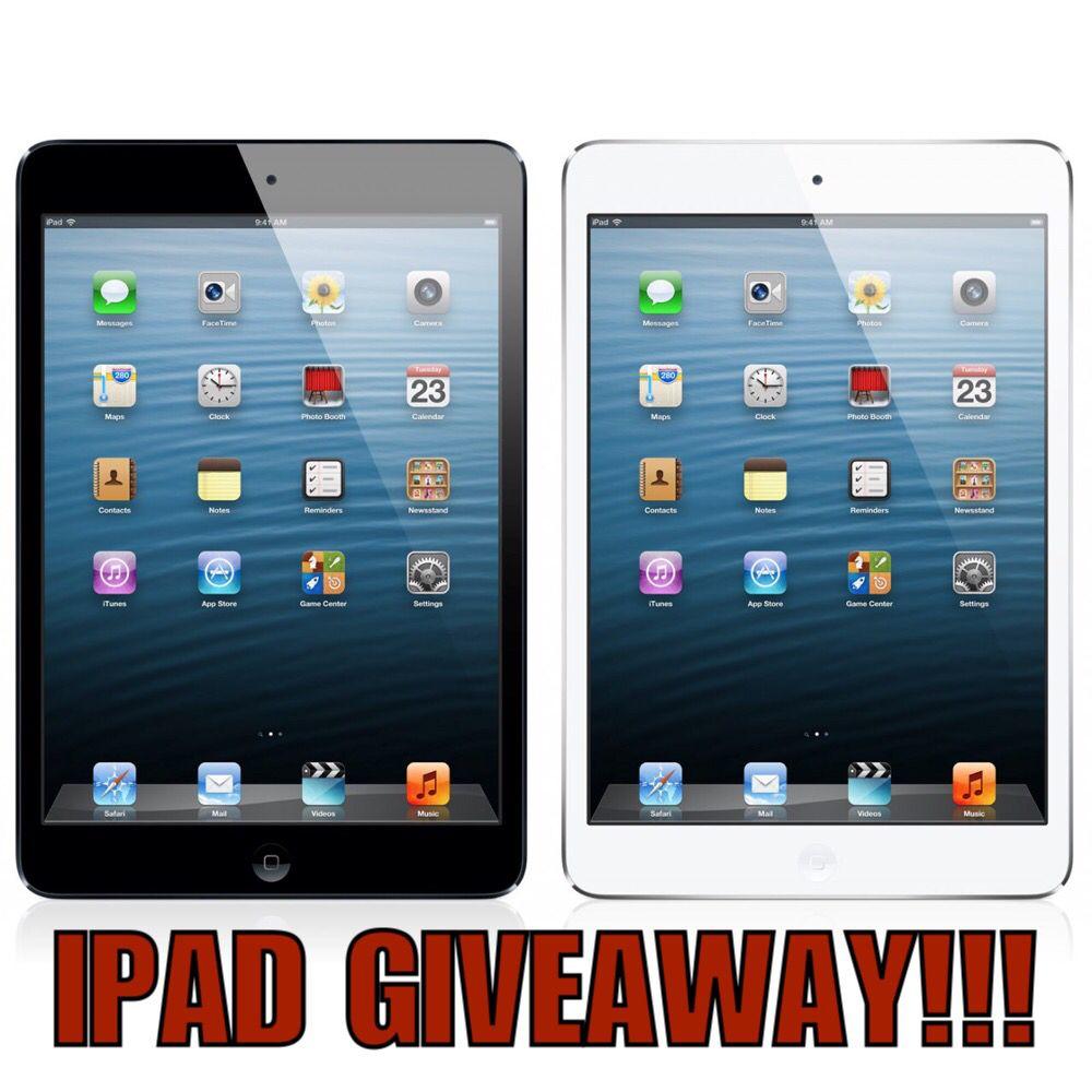 I want a free ipad