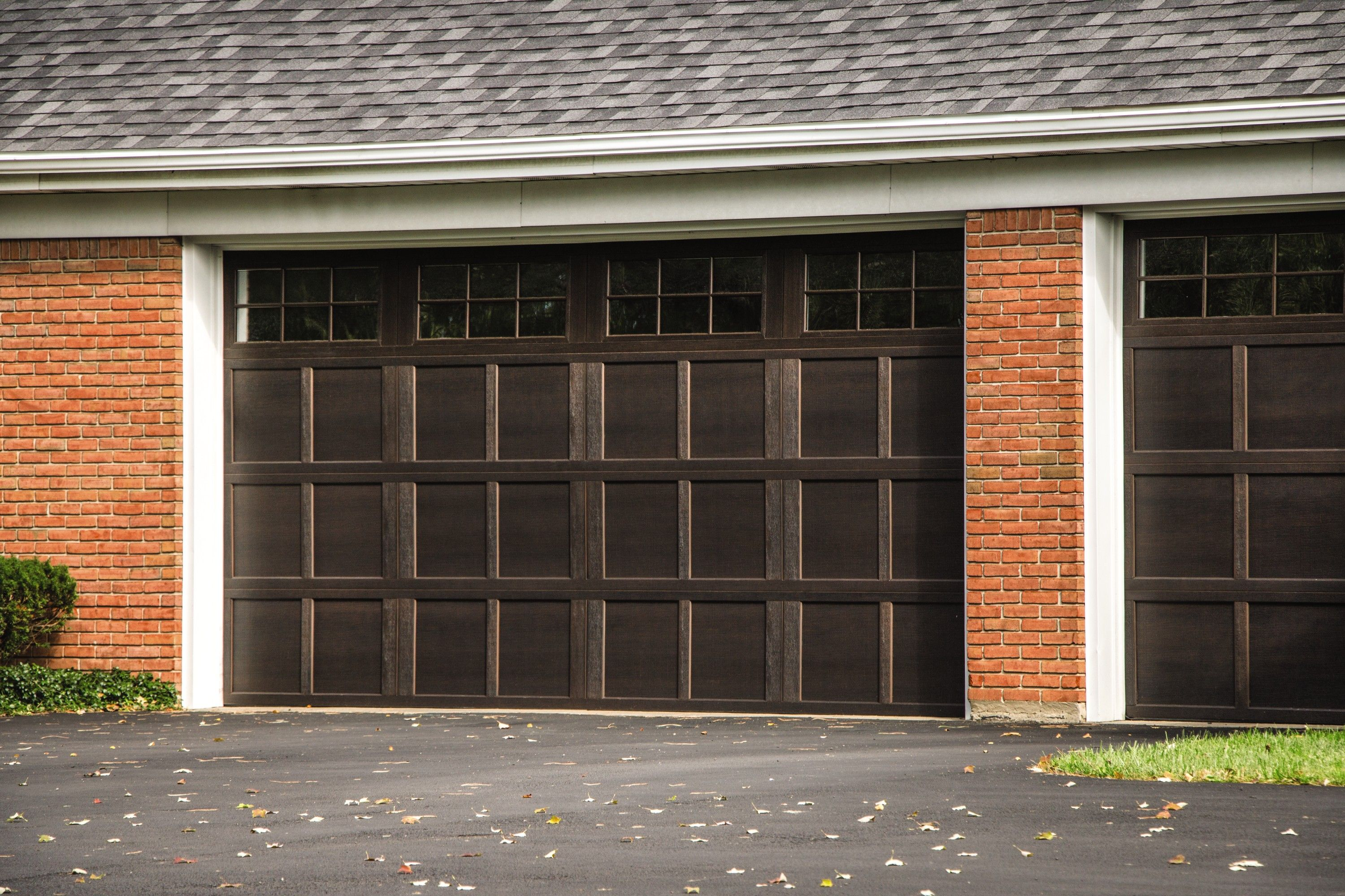 Pin On Dark And Light Garage Door Ideas Black White Gray And