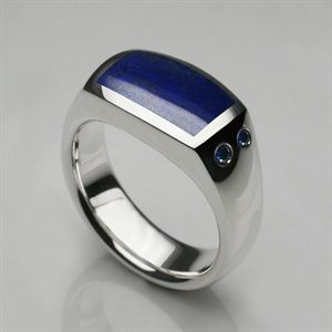 Oxford Signet Ring Platinum Hand Cut Onyx Mens designer jewelry