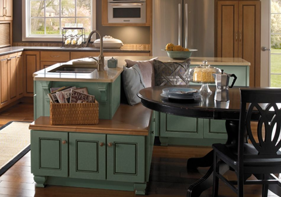 Sharp Kitchen Island Designs With Seating | Fantastic Furniture ...
