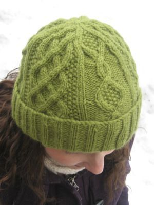 Free Celtic Knit Hat Pattern Found On Deliciousknits Knit