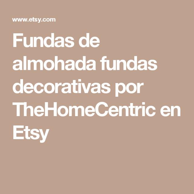 Fundas de almohada fundas decorativas por TheHomeCentric en Etsy