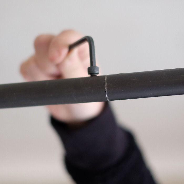 Bou コの字型天吊りハンガー サイズオーダー サイズオーダー品 追加パーツ オリジナル家具 金物の上手工作所オンラインショップ ハンガー タオルハンガー おしゃれ