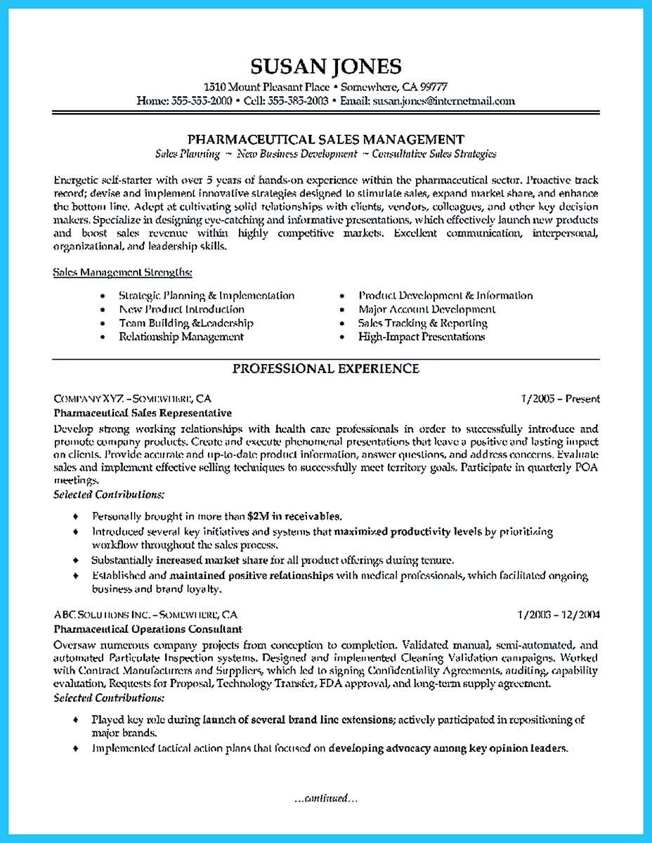 Strong And Convincing Areas Of Expertise Resume To Make You Accepted Sales Resume Examples Pharmaceutical Sales Resume Pharmaceutical Sales
