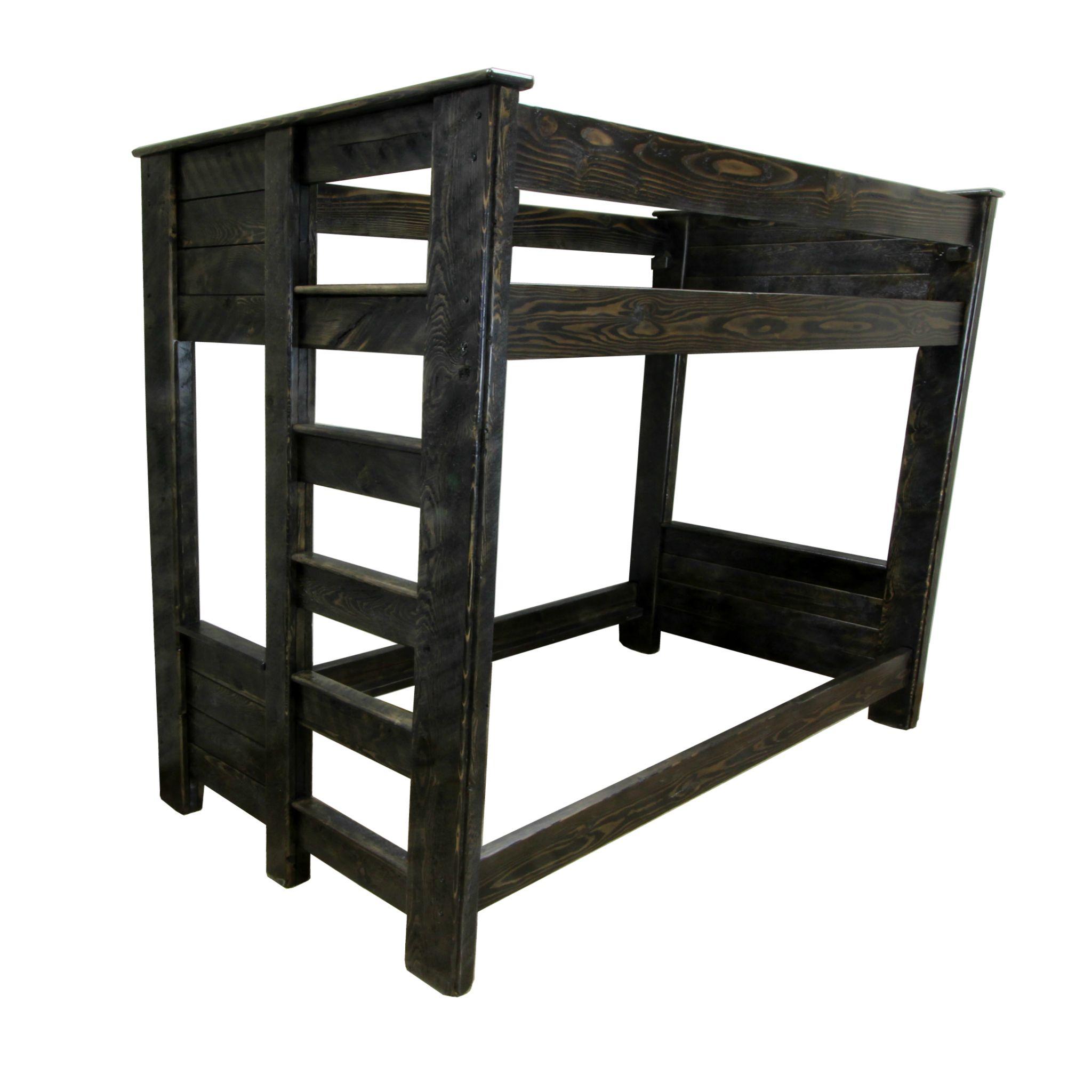 Wood Slat Bunk Bed Wood slats, Bunk beds, Corner furniture