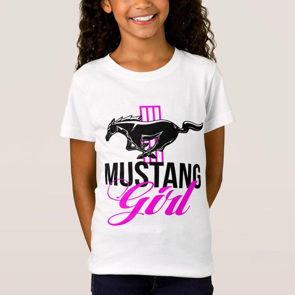 Mustang Girl Unisex T-Shirt